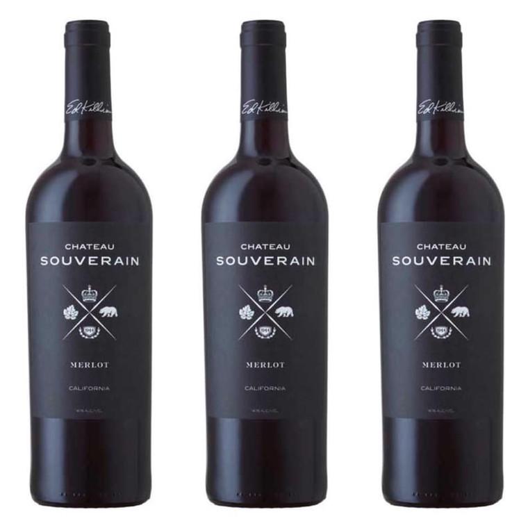 Chateau Souverain Merlot Wine 750 ml