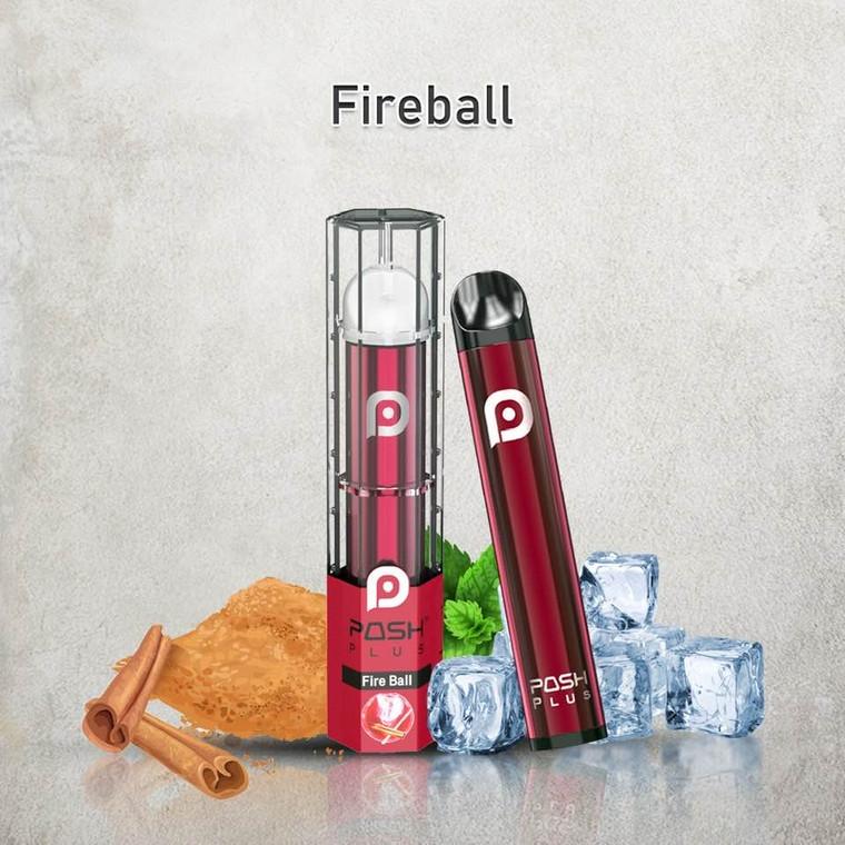 POSH PLUS FIRE BALL DISPOSABLE E-CIGRETTE 500 PUFF