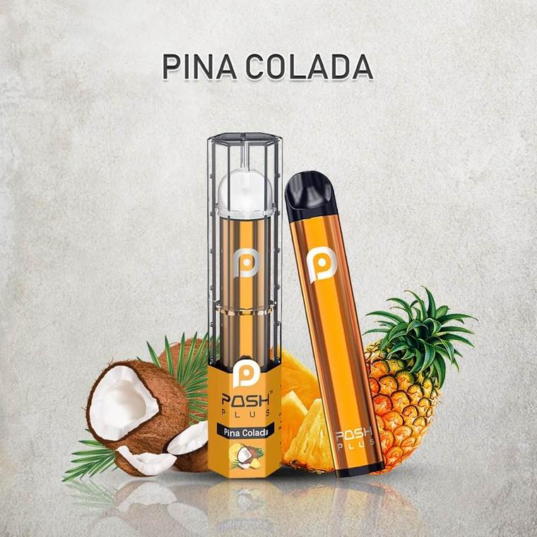 POSH PLUS PINA COLADA DISPOSABLE E-CIGRETTE 500 PUFF