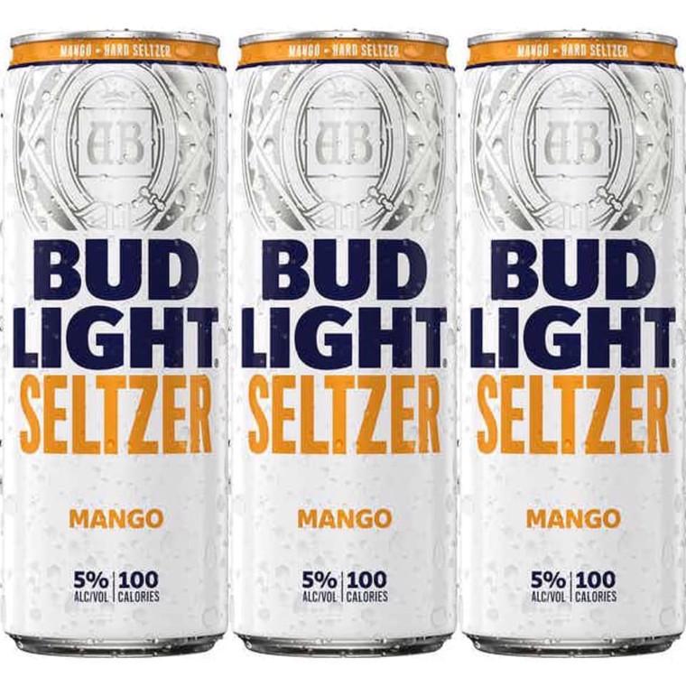 Bud Light Seltzer Mango 12 Oz / 12 Pack Can