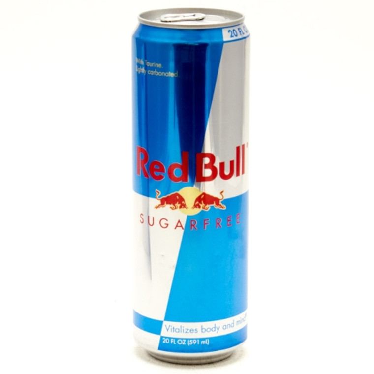 Red Bull Sugar Free Energy Drink 20 Oz Can