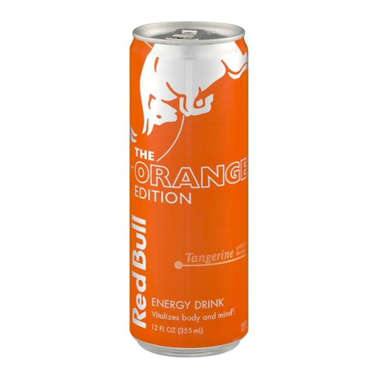 Red Bull The Orange Edition Tangerine Energy Drink 12 Oz Can