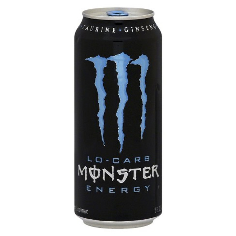 Monster Energy, Lo-Carb Drink 16 Oz Can