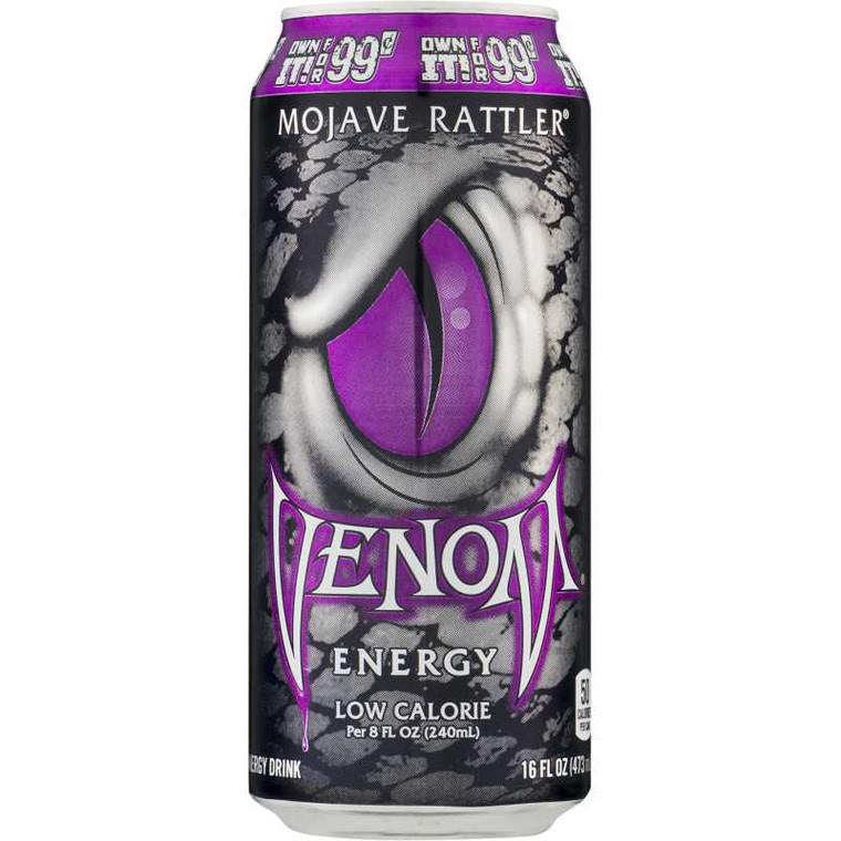 Venom Energy Drink Mojave Rattler, 16 Oz Can