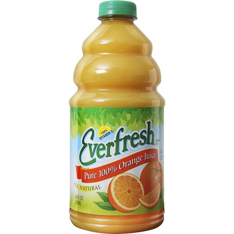 Everfresh Pure 100% Orange Juice - 634 Oz Bottle