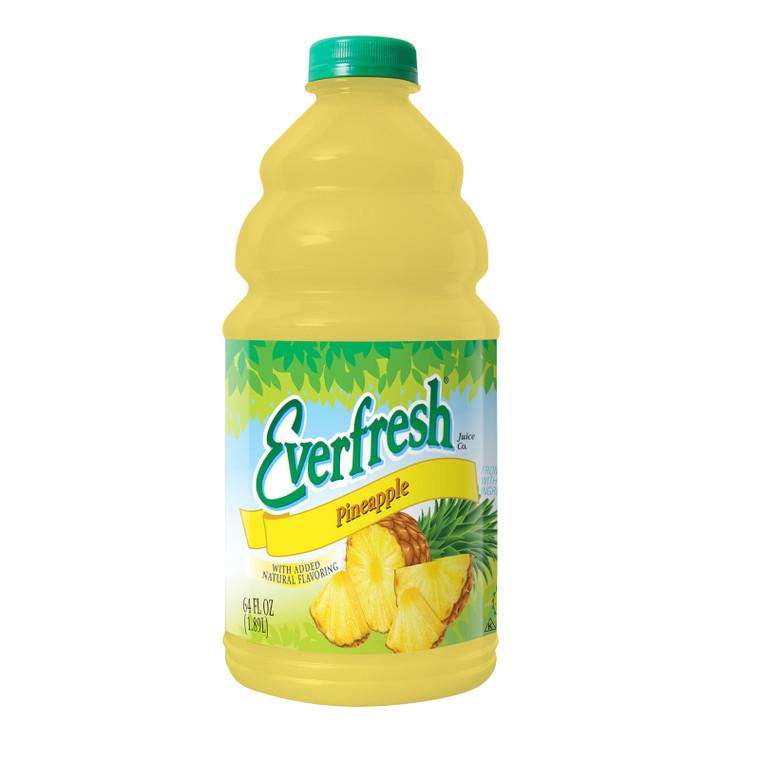 Everfresh Pineapple Juice 64 Oz. Bottle