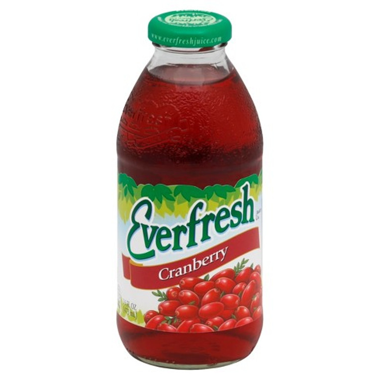 Everfresh Cranberry Juice Blend Cocktail, 16 Oz. Bottle