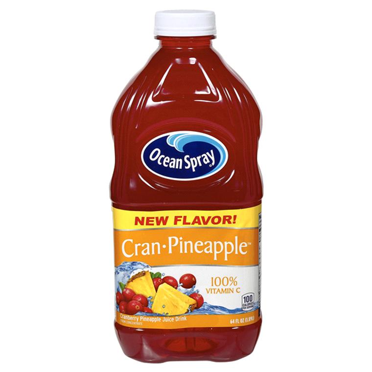 Ocean Spray Cran Pineapple Juice Drink, 64 oz
