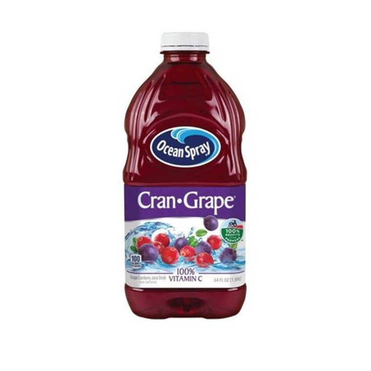 Ocean Spray Cran-Grape Juice - 64 Oz Bottle