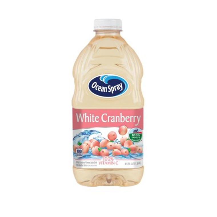 Ocean Spray White Cranberry Juice Drink 64 Oz