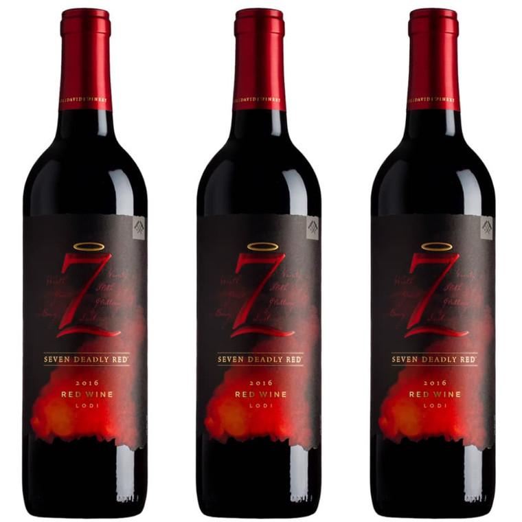 SEVEN DEADLY RED WINE LODI (2016) 750 ML