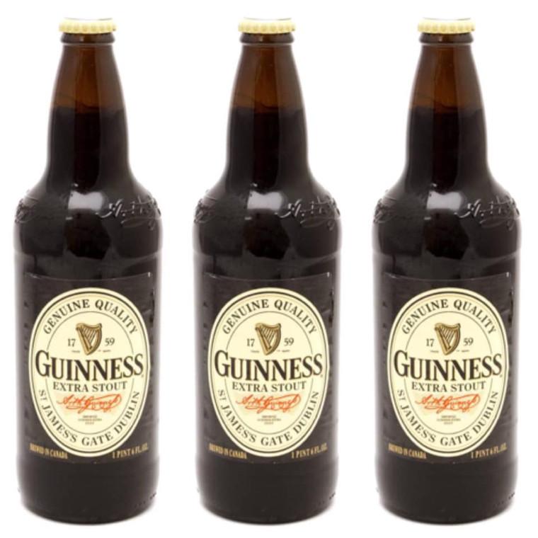 Guinness Extra Stout Beer 22 Oz Bottle