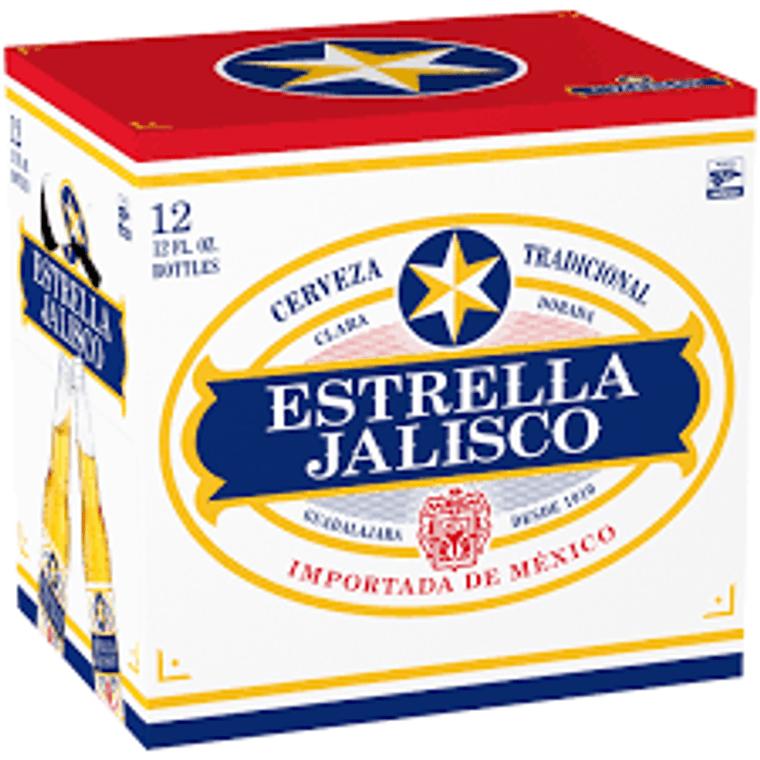 Estrella Jalisco Beer  12 Oz / 12 Pack Bottle