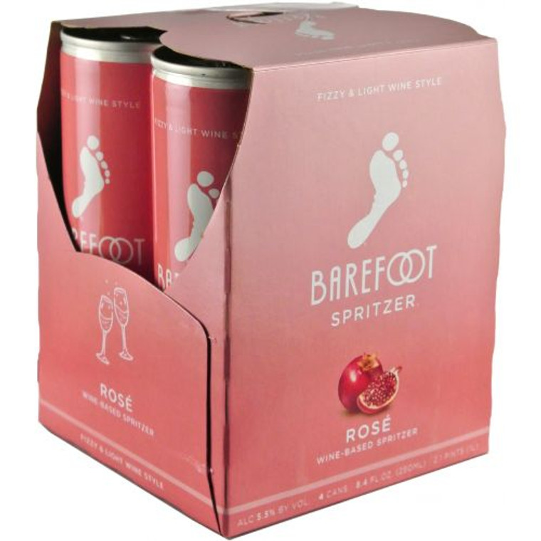 Barefoot Refresh Rose Spritzer 250 ML / 4 Pack Cans