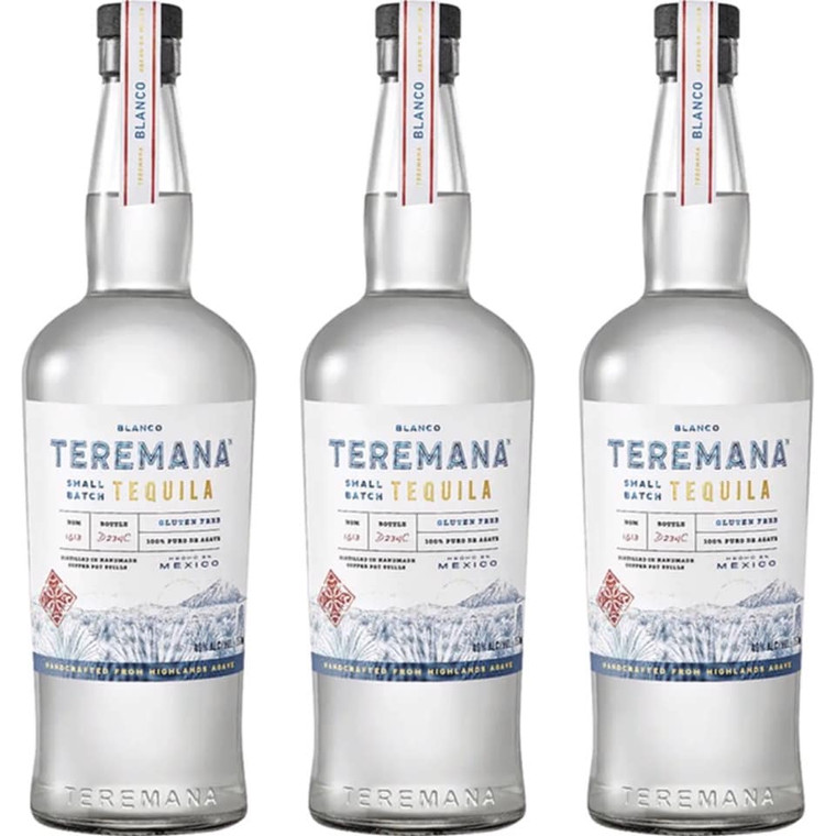 TEREMANA SMALL BATCH BLANCO TEQUILA 1 L