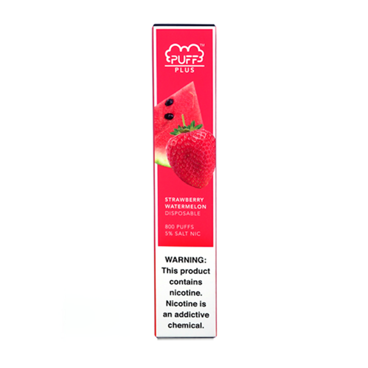 Puff Bar-Plus Strawberry Watermelon Disposable E-Cigs 800 Puffs