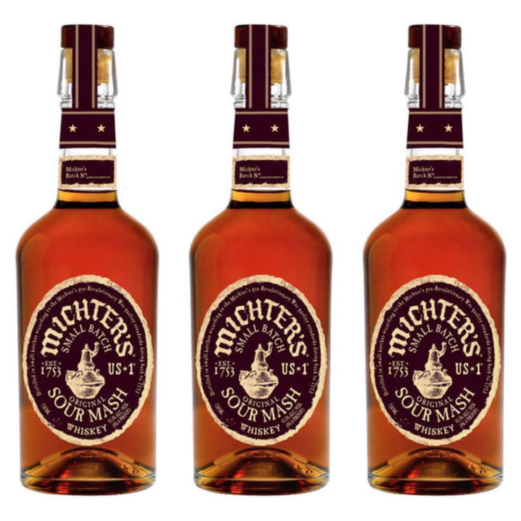 MICHTER'S US-1 SOUR MASH WHISKEY 750 ML