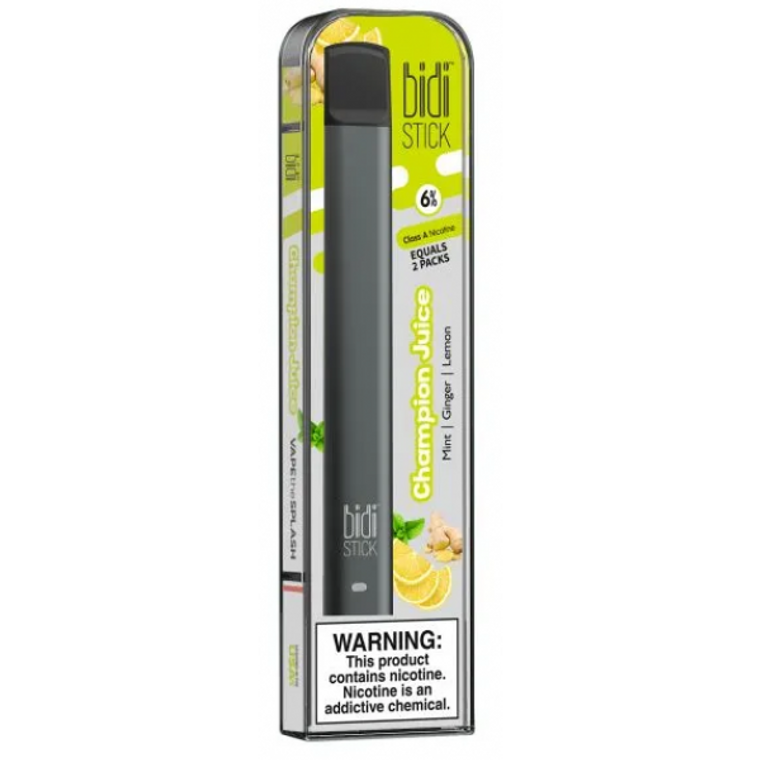 BIDI Stick Champion Juice Pre-filled disposable Pod kit