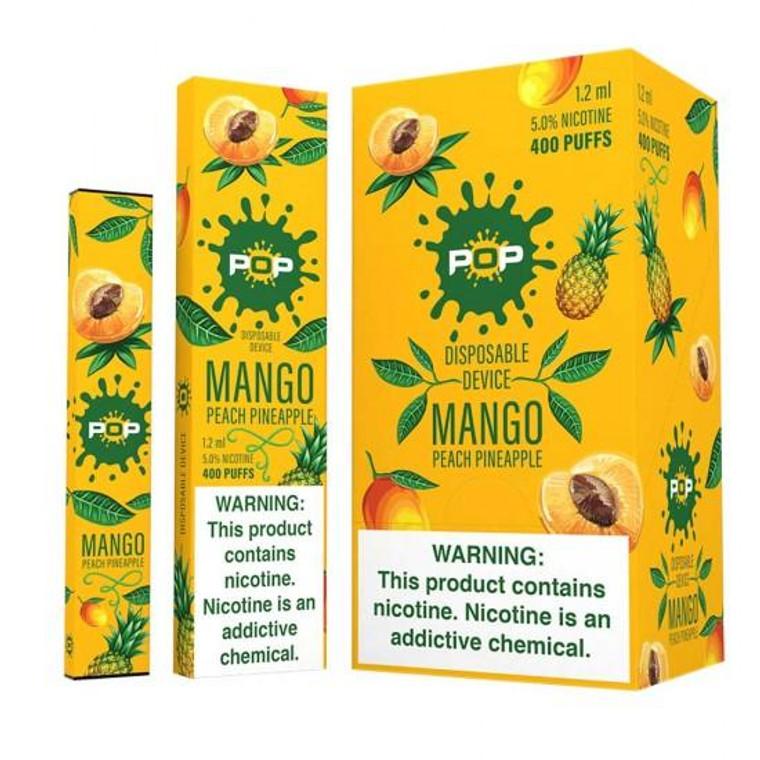Pop Disposable Mango, Peach & Pineapple Pod Vape Device