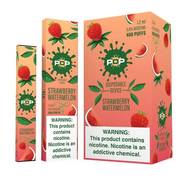 Pop Disposable Strawberry Watermelon Pod Vape Device