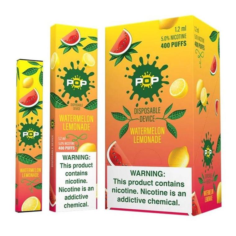 Pop Disposable Watermelon Lemonade Pod Vape Device