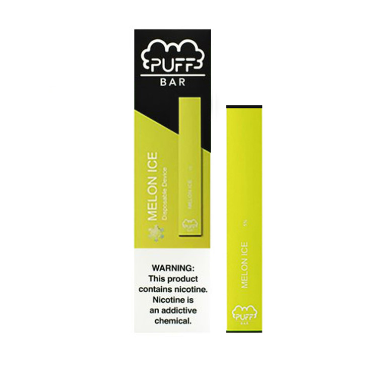 Puff Bar- Melon Ice Disposable E-Cigs 300 Puffs