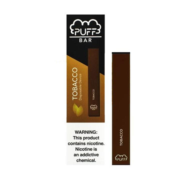 Puff Bar- Tobacco Disposable E-Cigs 300 Puffs