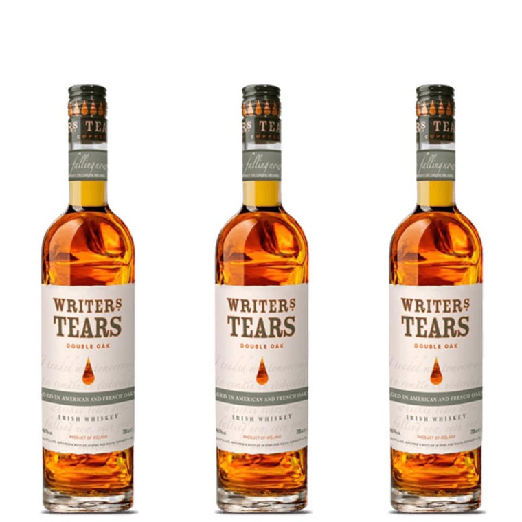 WRITERS TEARS DOUBLE OAK IRISH WHISKEY 750 ML