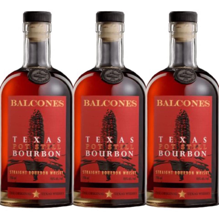 BALCOONES TEXAS POT STILL BOURBON 750 ML