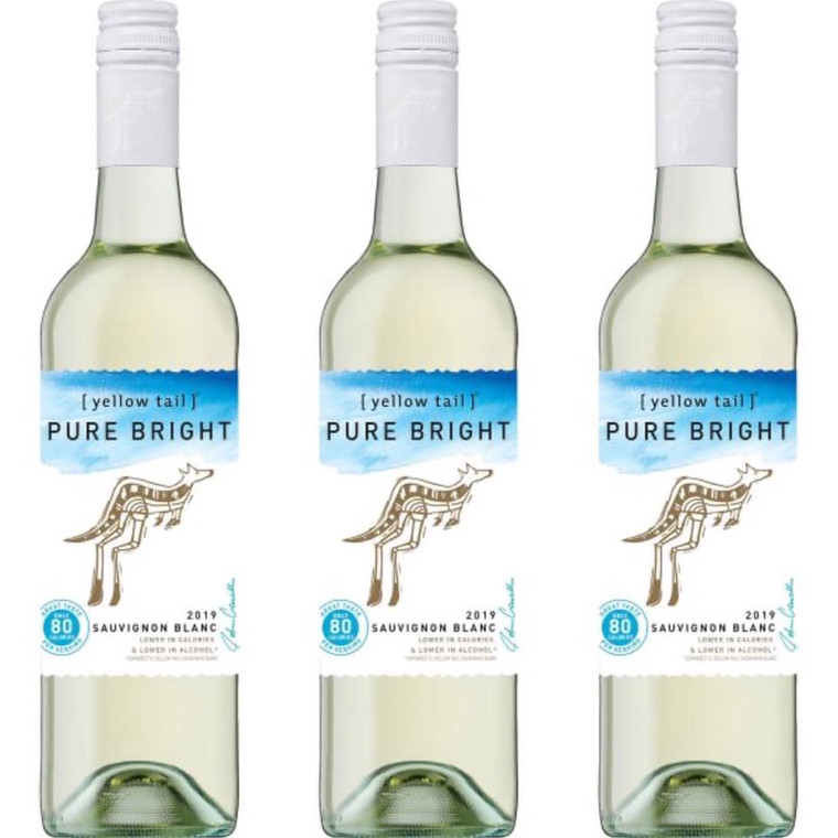 YELLOW TAIL PURE BRIGHT SAUVIGNON BLANC WINE 75O ML