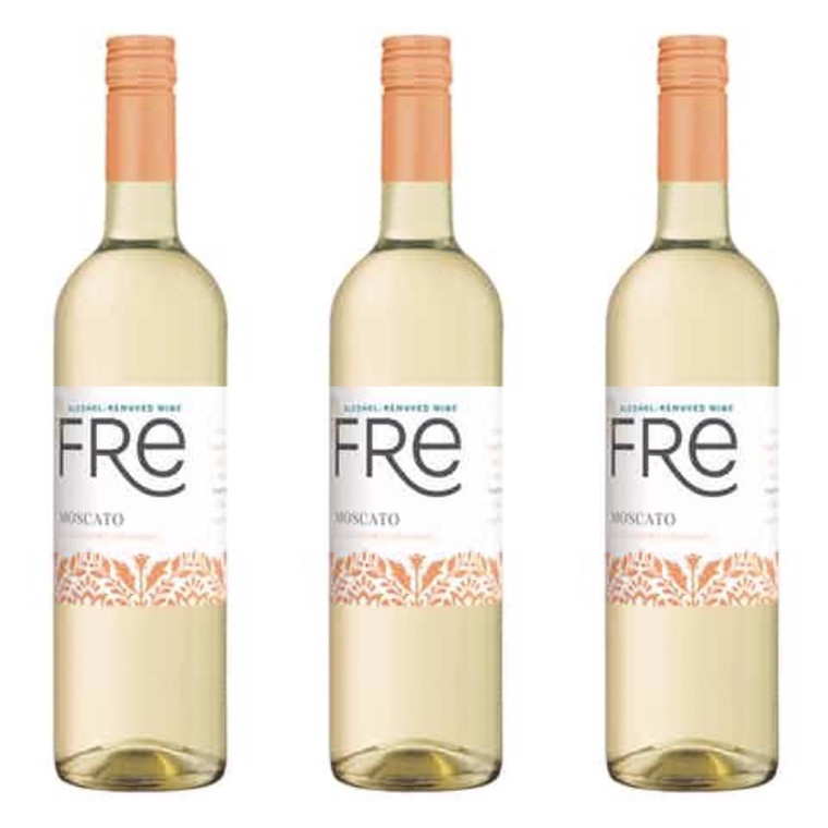 SUTTER HOME FRE MOSCATO WINE 750 ML