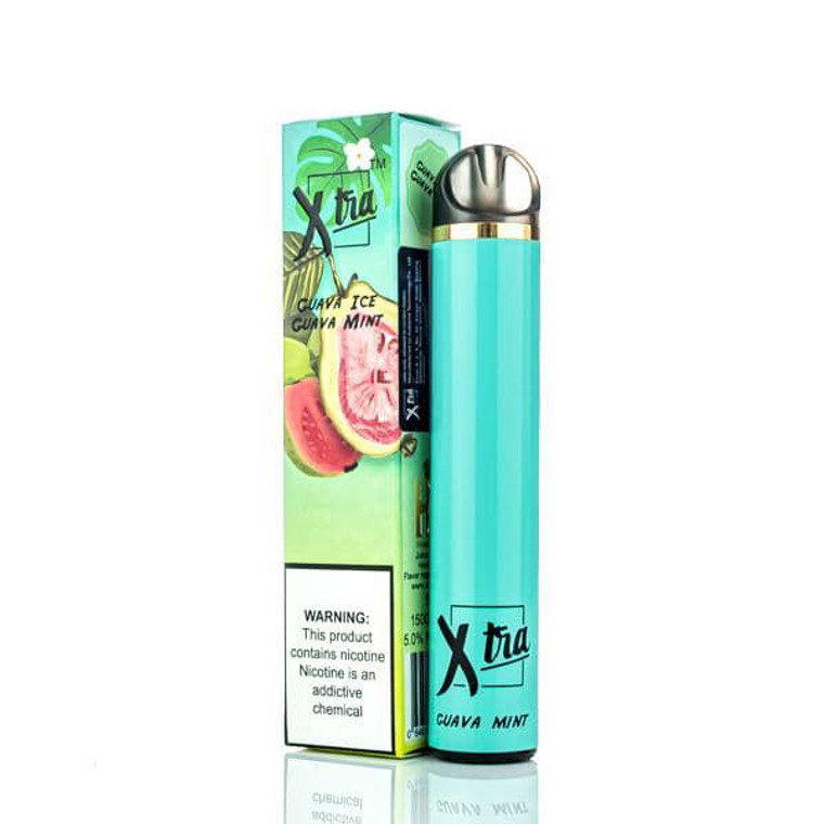 XTRA 1500 PUFF GUAVA MINT DISPOSABLE DEVICE – 5ML