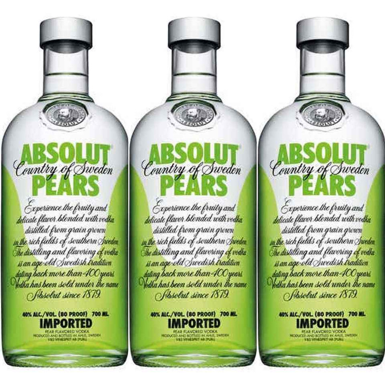 Absolut Vodka Absolut Vodka Pears, 750 mL