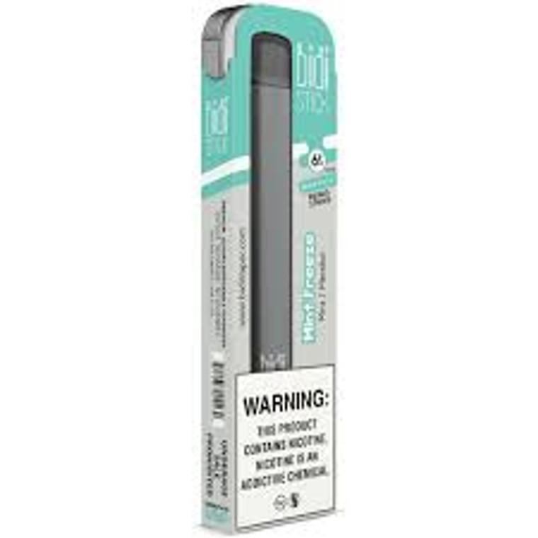 BIDI Stick Mint Freeze Pre-filled disposable Pod kit