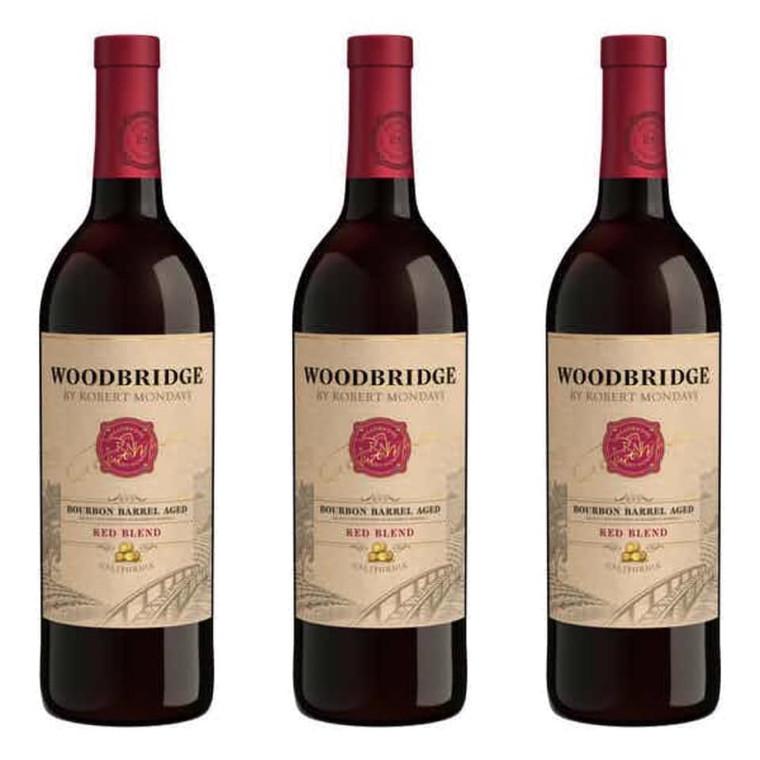 WOODBRIDGE BOURBON BARREL AGED RED BLEND 750 ML