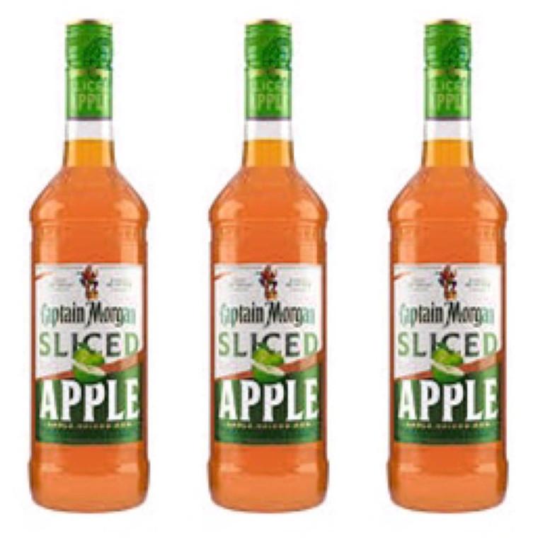 Captain Morgan Sliced Apple Rum 750 ml