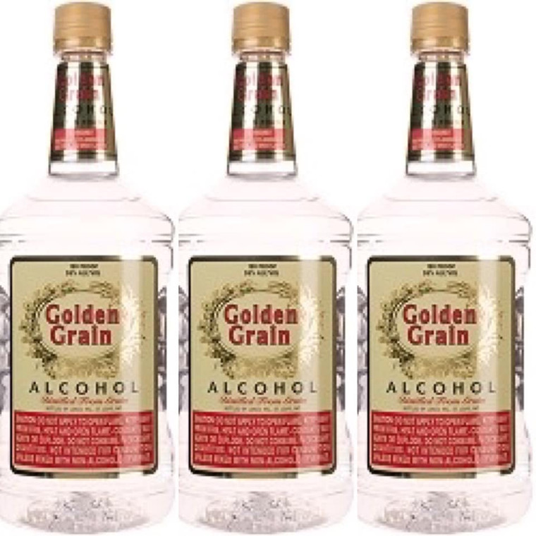 GOLDEN GRAIN ALCOHOL190 PROOF 1.75 L