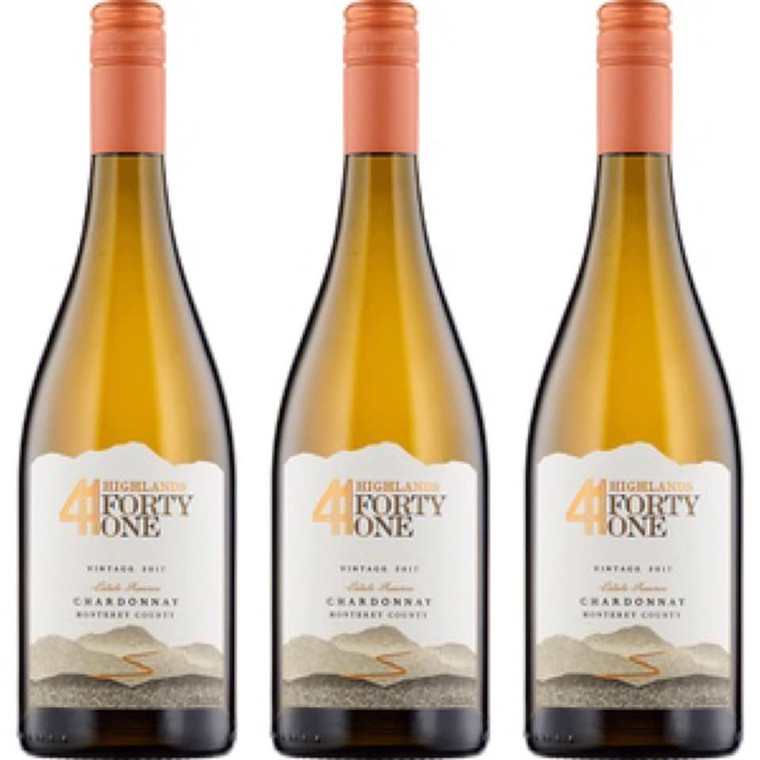 Highlands 41 2017 Estate Reserve Chardonnay Monterey County 750 ml