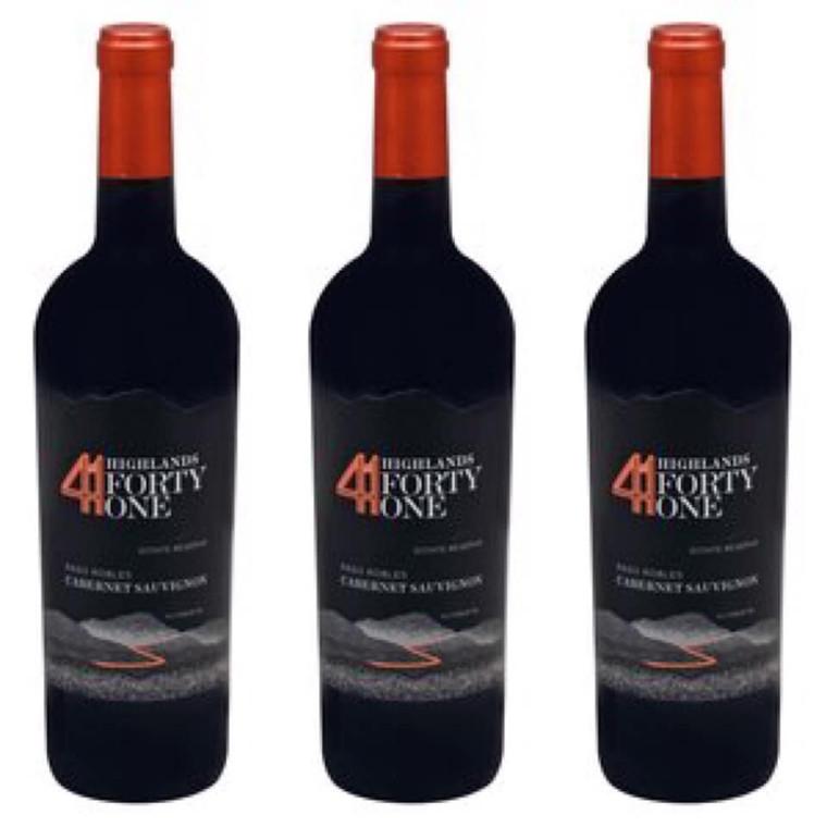 Highlands 41 Paso Robles Cabernet Sauvignon Wine 750 ml