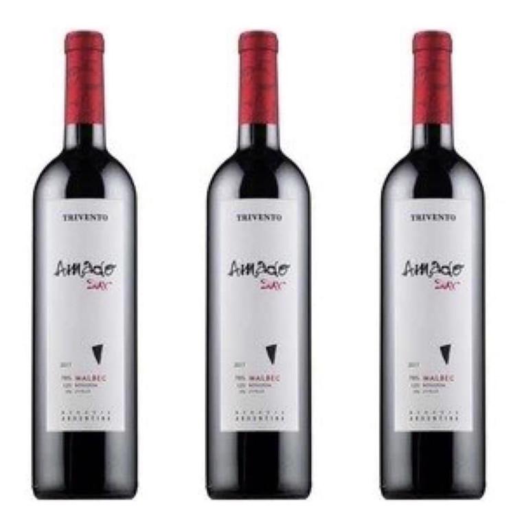 Trivento Amado Sur Malbec Blend Wine 750 ml