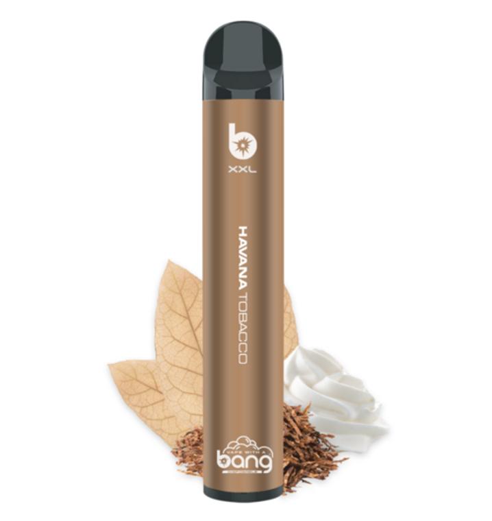 Bang XXL | 2000 Puffs | Disposable Vape Pen Havana Cream