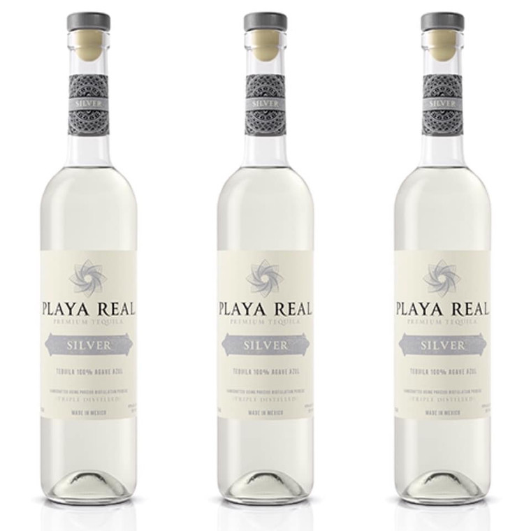 PLAYA REAL SILVER TEQUILA 750 ML