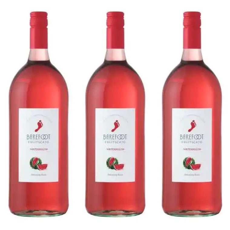 BAREFOOT FRUITSCATO WATERMELON WINE 1.5 L