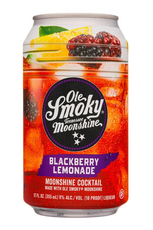 OLE SMOKY MOONSHINE BLACKBERRY LEMONADE COCKTAILS 12 OZ / 4 PACK