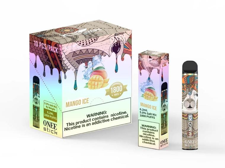 KANGVAPE - ONEE STICK 1800 PUFF MANGO ICE
