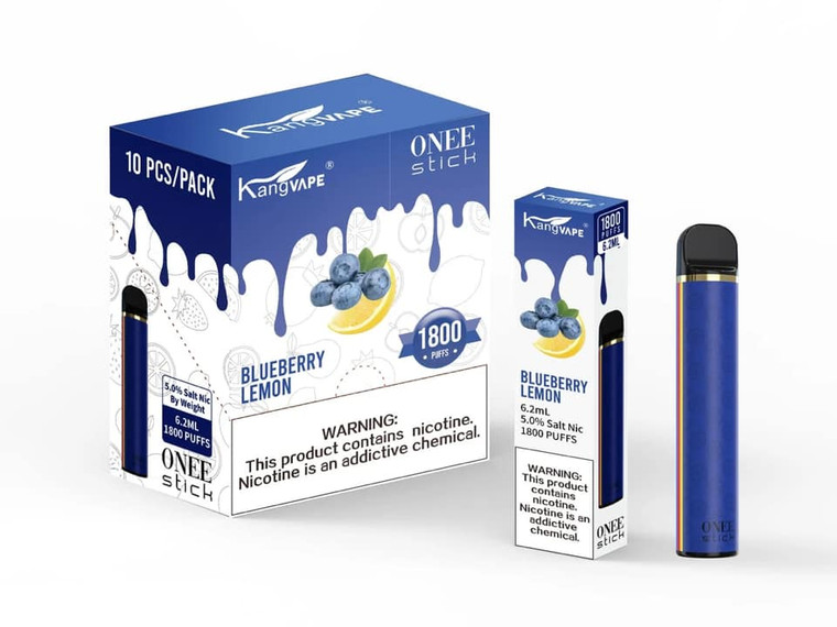 KANGVAPE - ONEE STICK 1800 PUFF BLUEBERRY LEMON