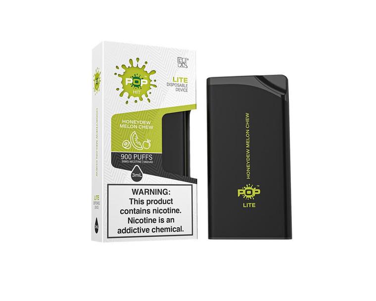POP Lite by Pop Vapor Disposable Vape Pen 3 Pcs HoneyDew Melon Chew  900 puff