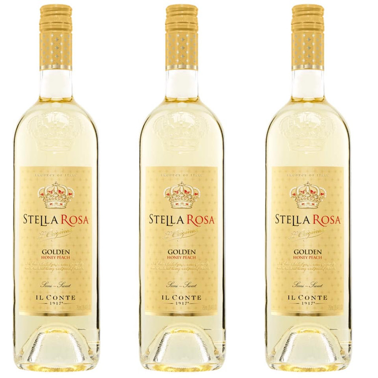 STELLA ROSA GOLDEN HONEY PEACH WINE 750 ML