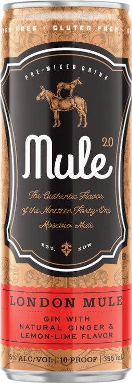 Mule 2.0 London Mule 355 ML / 4 PACK