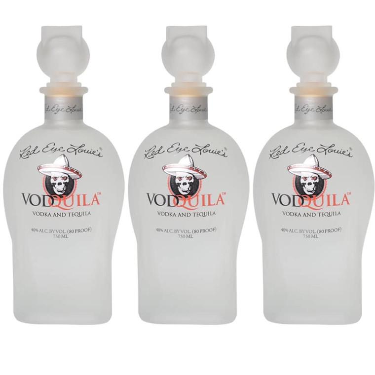 VODQUILA WHITE VODKA & TEQUILA 750 ML